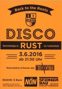 Plakat Disco030616